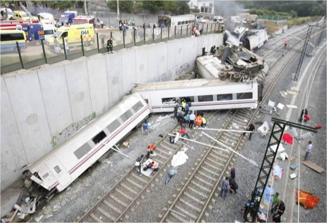 accidente tren santiago compostela